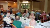 Jens Cramer von Uni Göttingen stellt das Projekt Lebensgeschichten tauber SeniorInnen vor