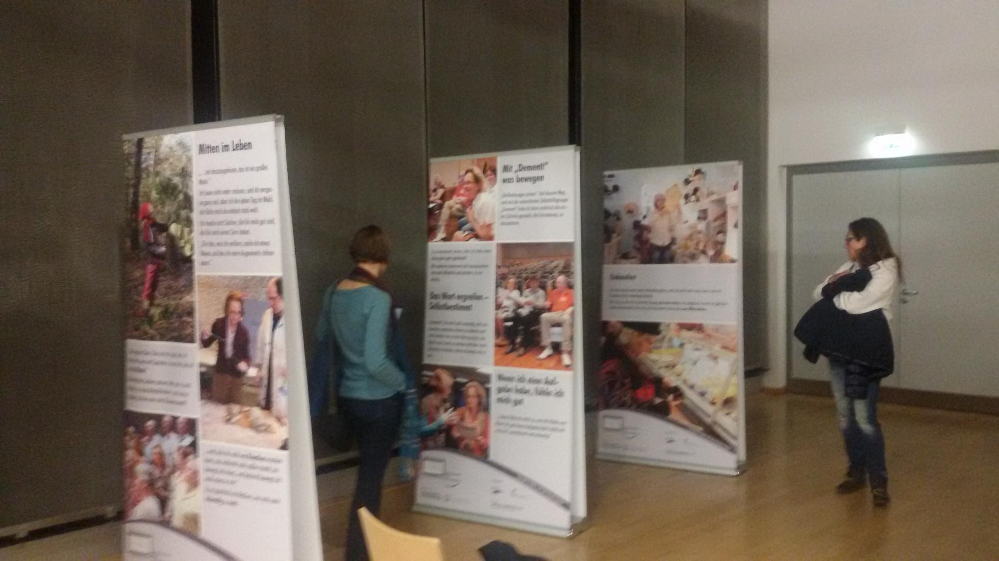 """Die Ausstellung """"Selbstbestimmt leben"""" - beeindruckende Bilder."""