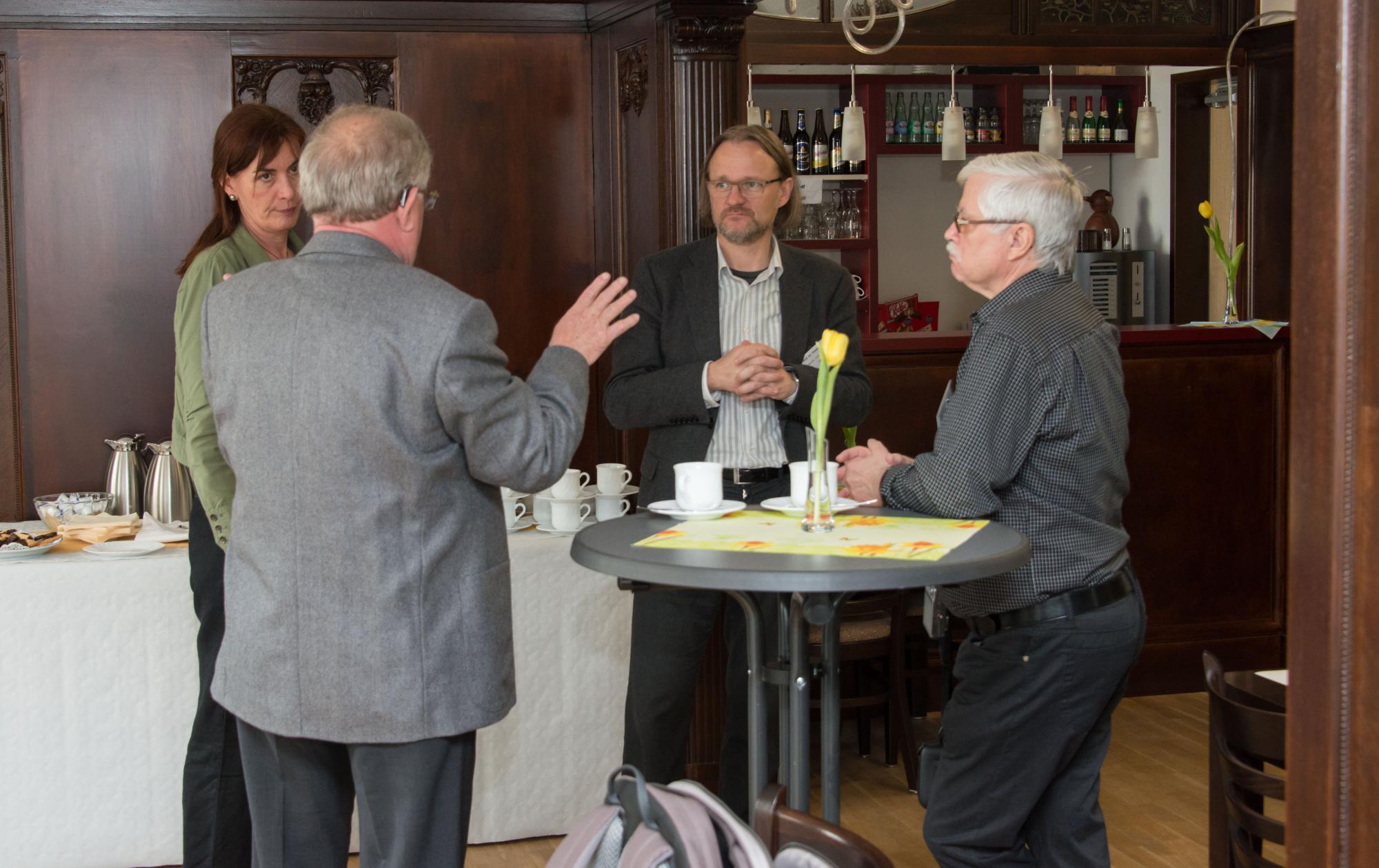 Anne Gelhardt, Lutz Köhler, Thomas Kaul und Karl Heinz Kunze