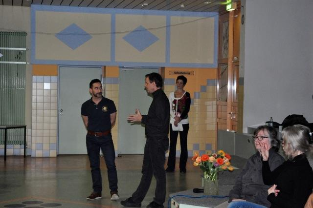 """Interview mit Interessensgemeinschaft_Auftakt """"Demenz-freundlich im Quartier"""" 19.03.2015"""
