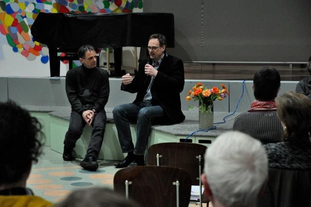 """Interview mit Alfred-Krupp-Schule_Auftakt """"Demenz-freundlich im Quartier"""" 19.03.2015"""