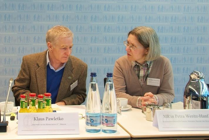 Klaus Pawletko und Petra Weritz-Hanf
