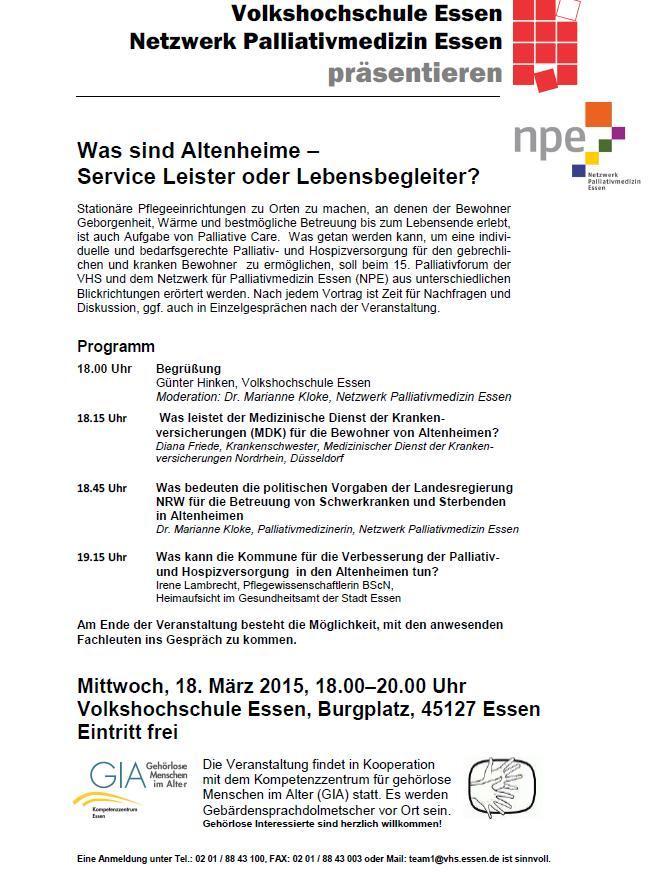 Informationsabend mit Dolmetscher in der VHS Essen_18032015