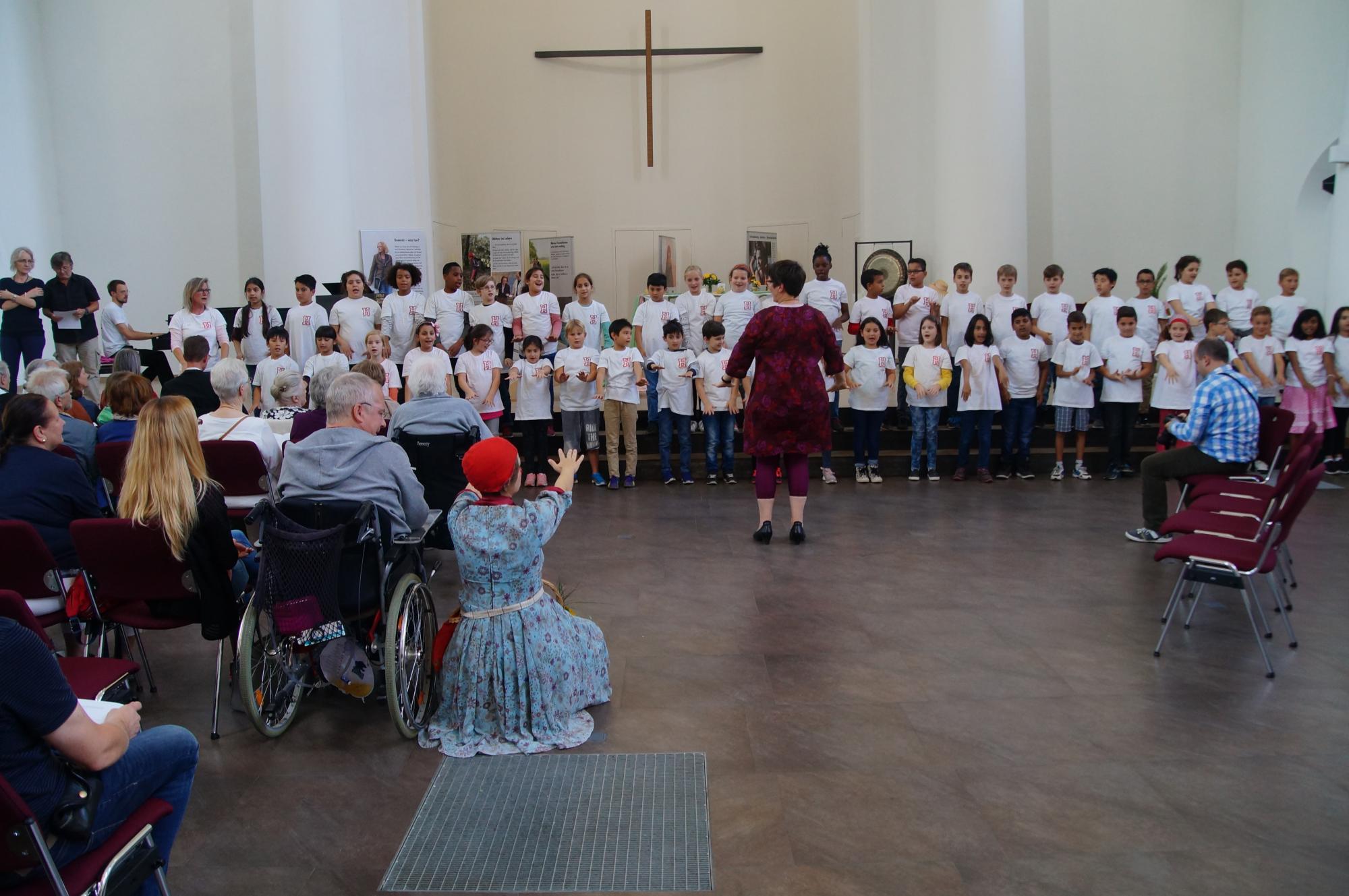 Das SingNetz Heinickeschule macht mit.