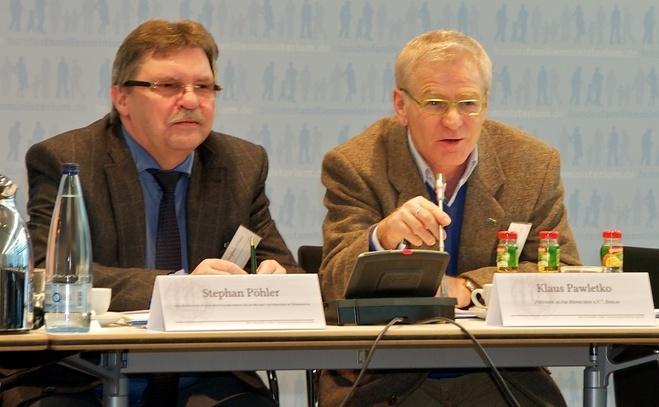 Stephan Poehler und Klaus Pawletko