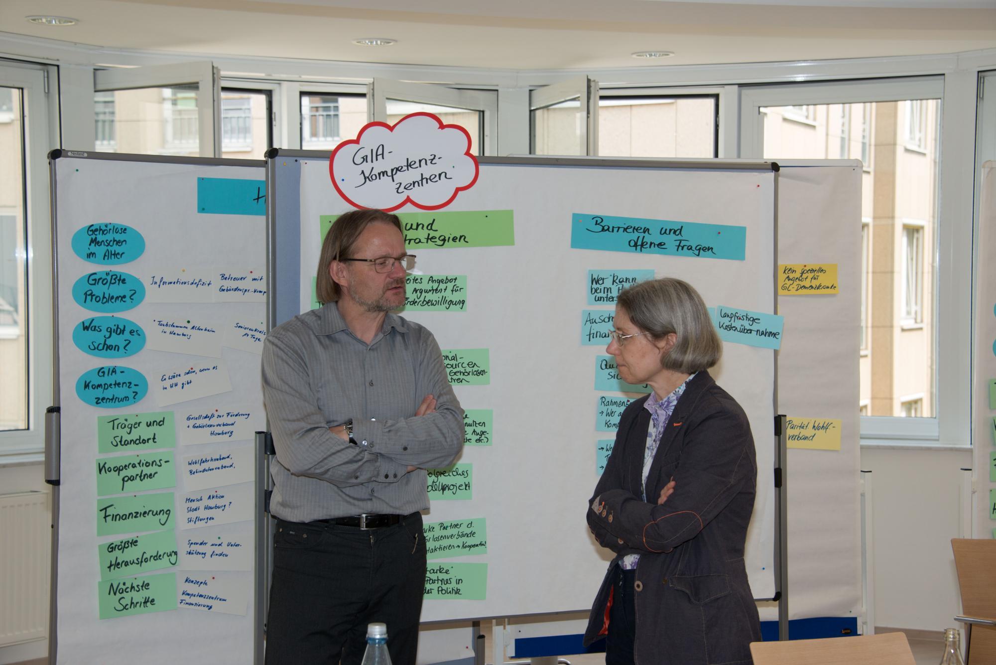 Thomas Kaul und Petra Weritz-hanf