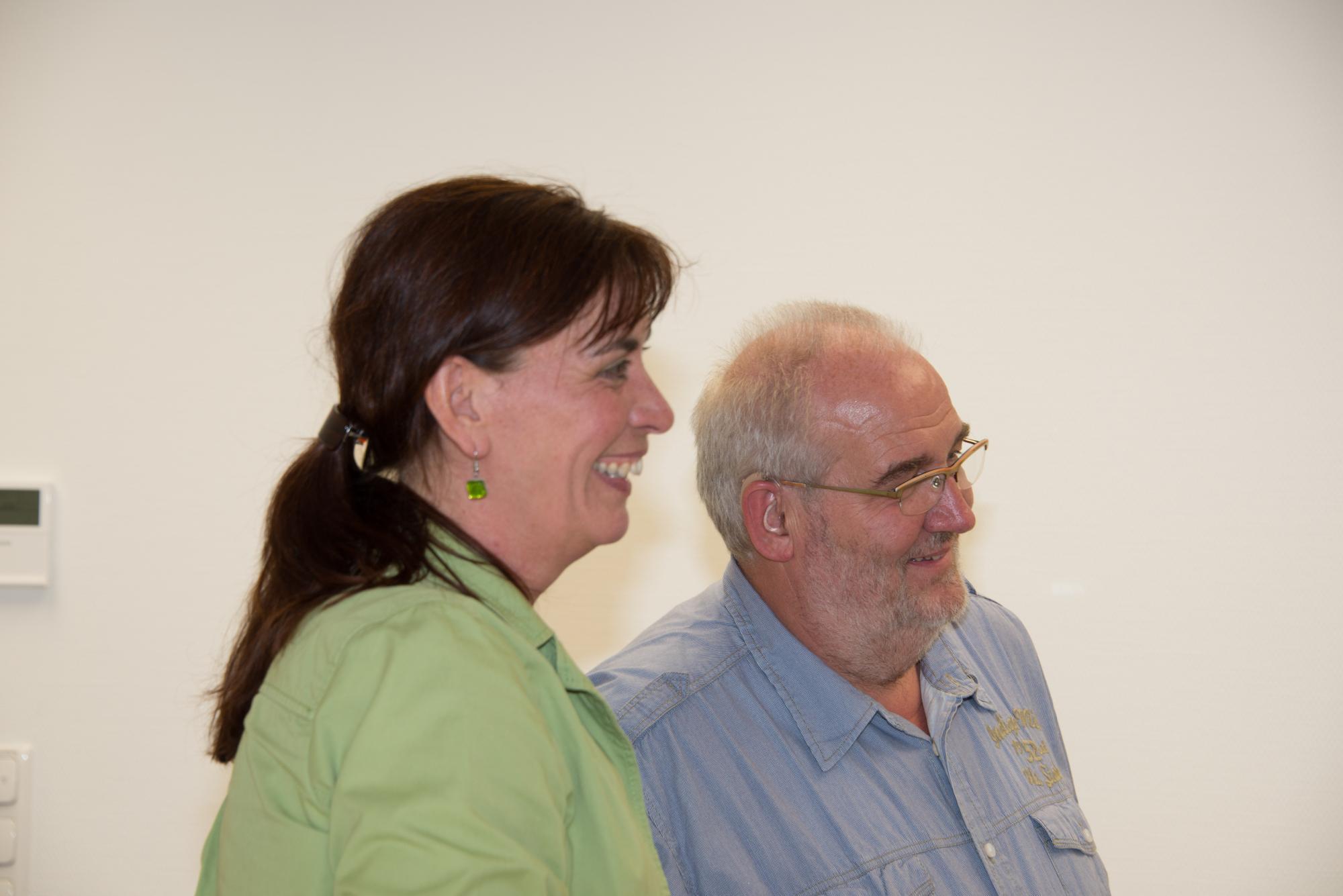 Anne Gelhardt und Martin Domke